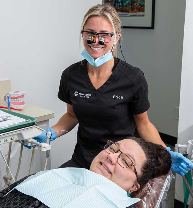 Premier Dentist in Roseville Reception